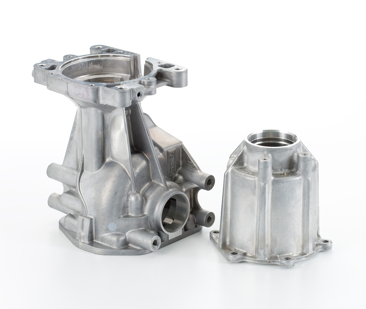 Twin Cylinder Crankcase and Head