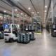 Madison-Kipp Corporation warehouse with forklift